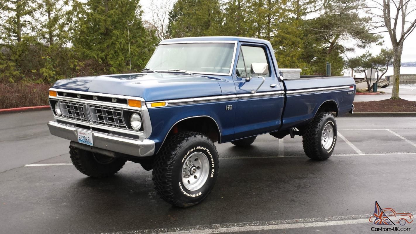 small resolution of ford highboy 1975 ford f250 4x4 highboy 460v8 for sale