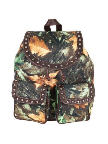 $18.50 Country Camo and Brown Backpack   Camo Crazy! Camo Fashion ...