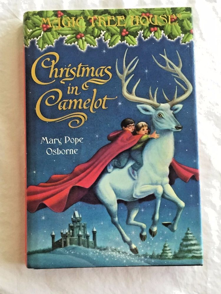 Magic Tree House Christmas Book Hardcover In Camelot