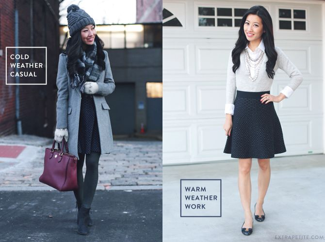 Sweater skirt styled for work   weekend (Extra Petite) | Petite ...