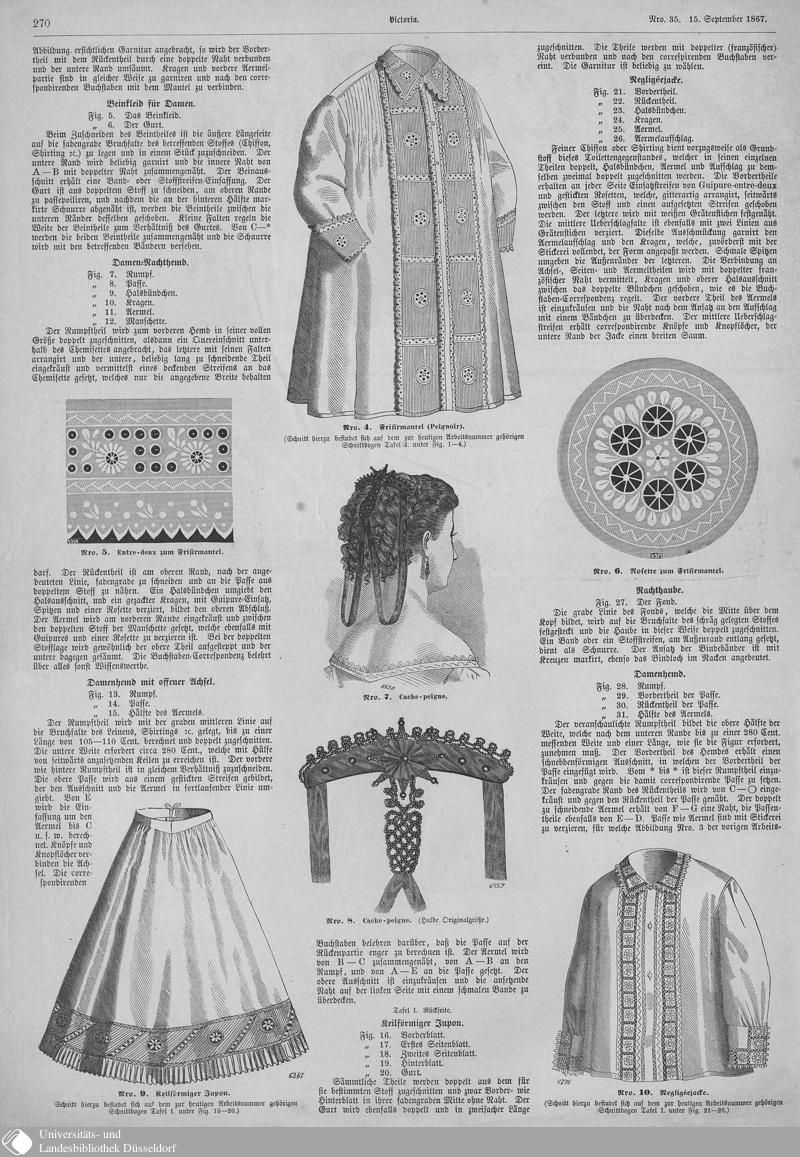 130 [270] - Nro. 35. 15. September - Victoria - Seite - Digitale Sammlungen - Digitale Sammlungen