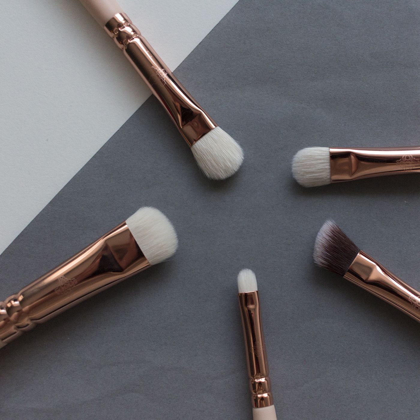 My ZOEVA brushes, review, also overview post Brush
