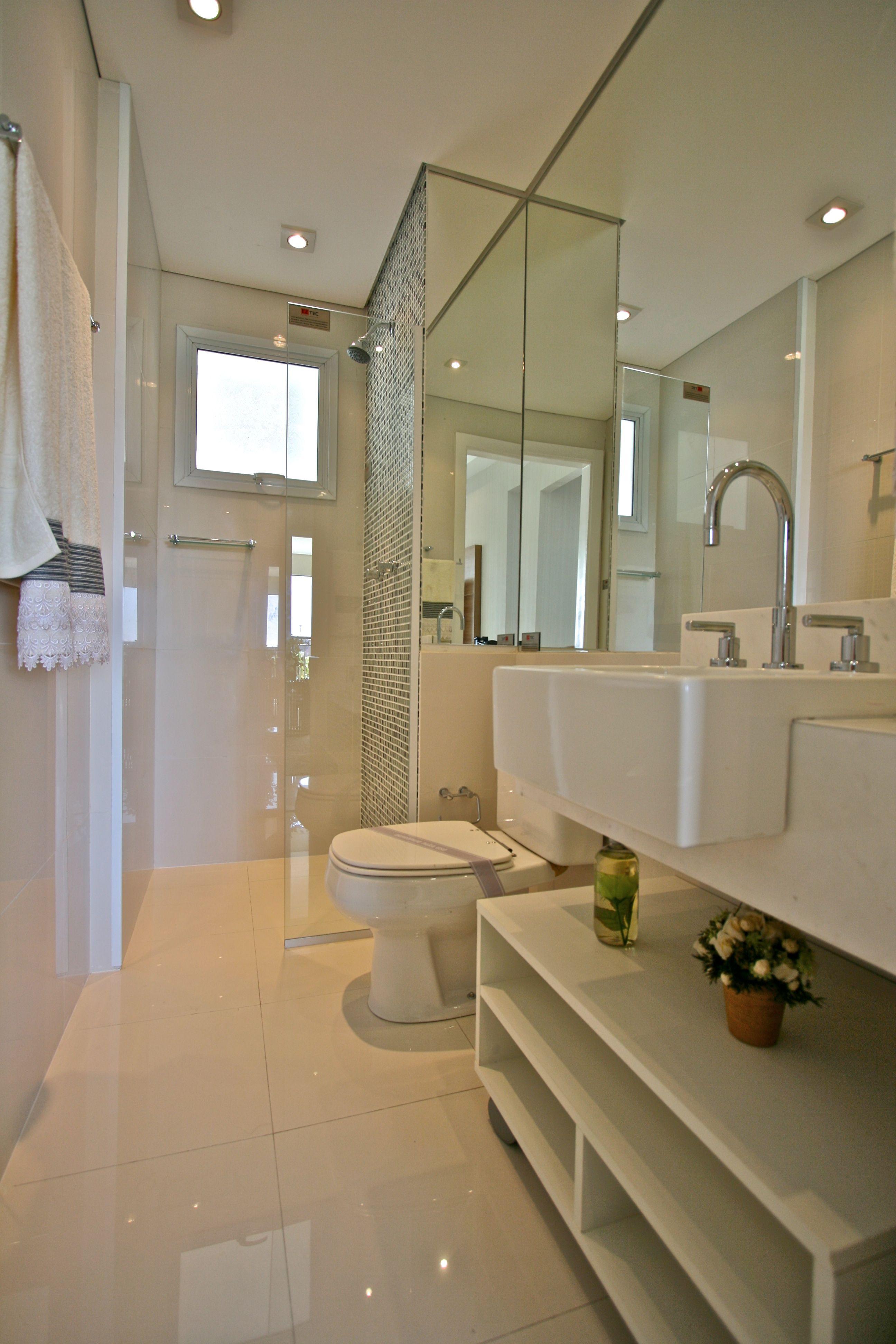 Banheiro  Projeto Marcia Brunello Produto Cerâmica Portinari #ceramicaport -> Banheiros Decorados Ceramica Portinari