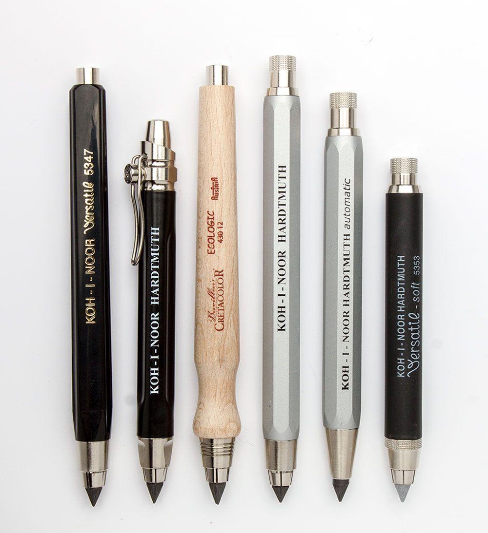 Why Use a Clutch Pencil? - Jackson's Art BlogJackson's Art Blog