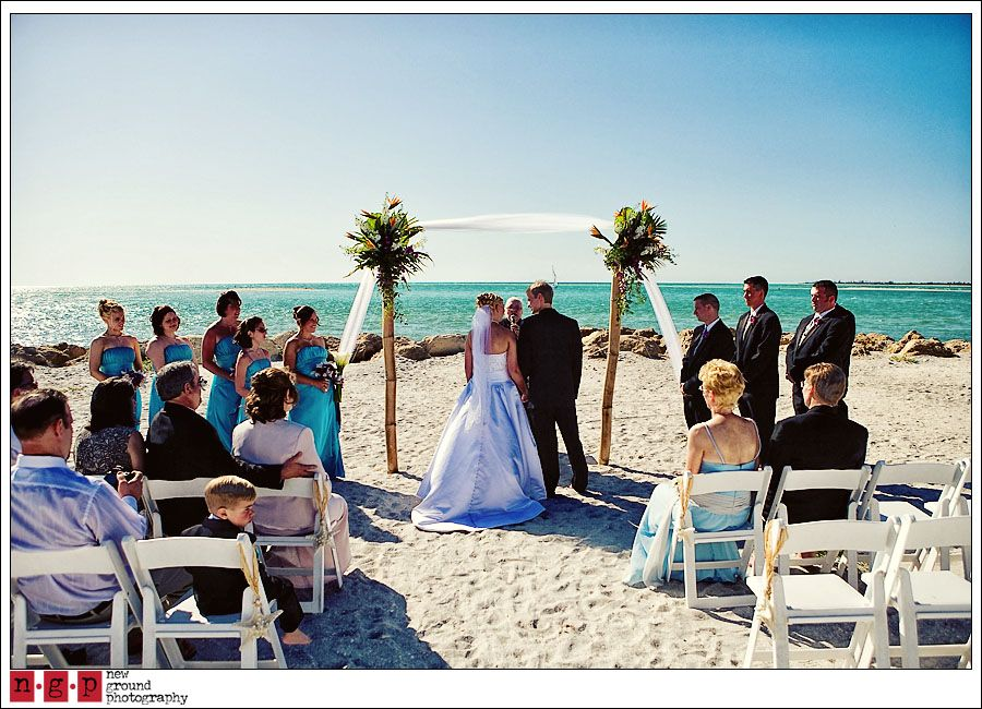 Lisa And Jared Got Married On The Beach At South Seas Resort Captiva Island Florida