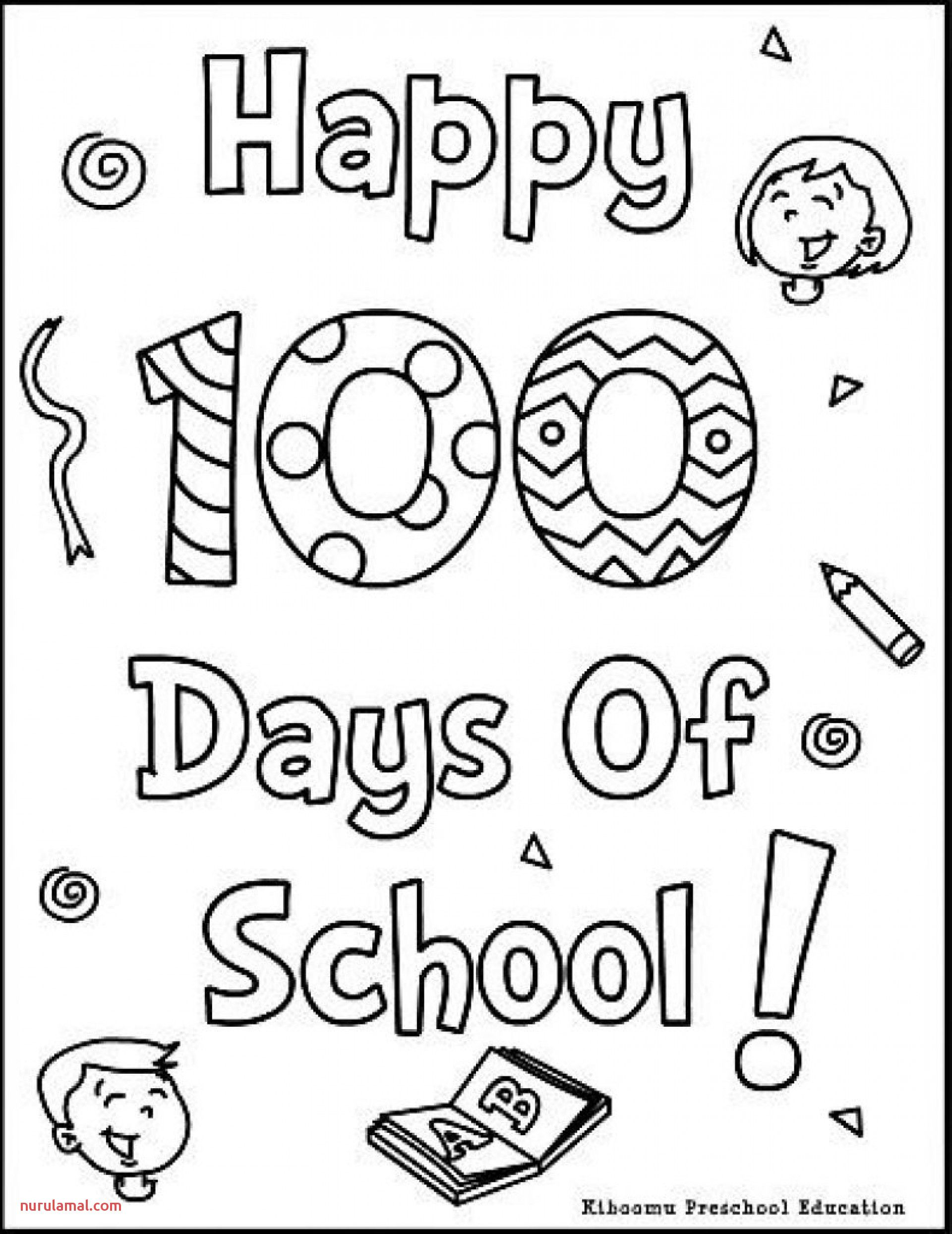 100 Days Of School Printables In