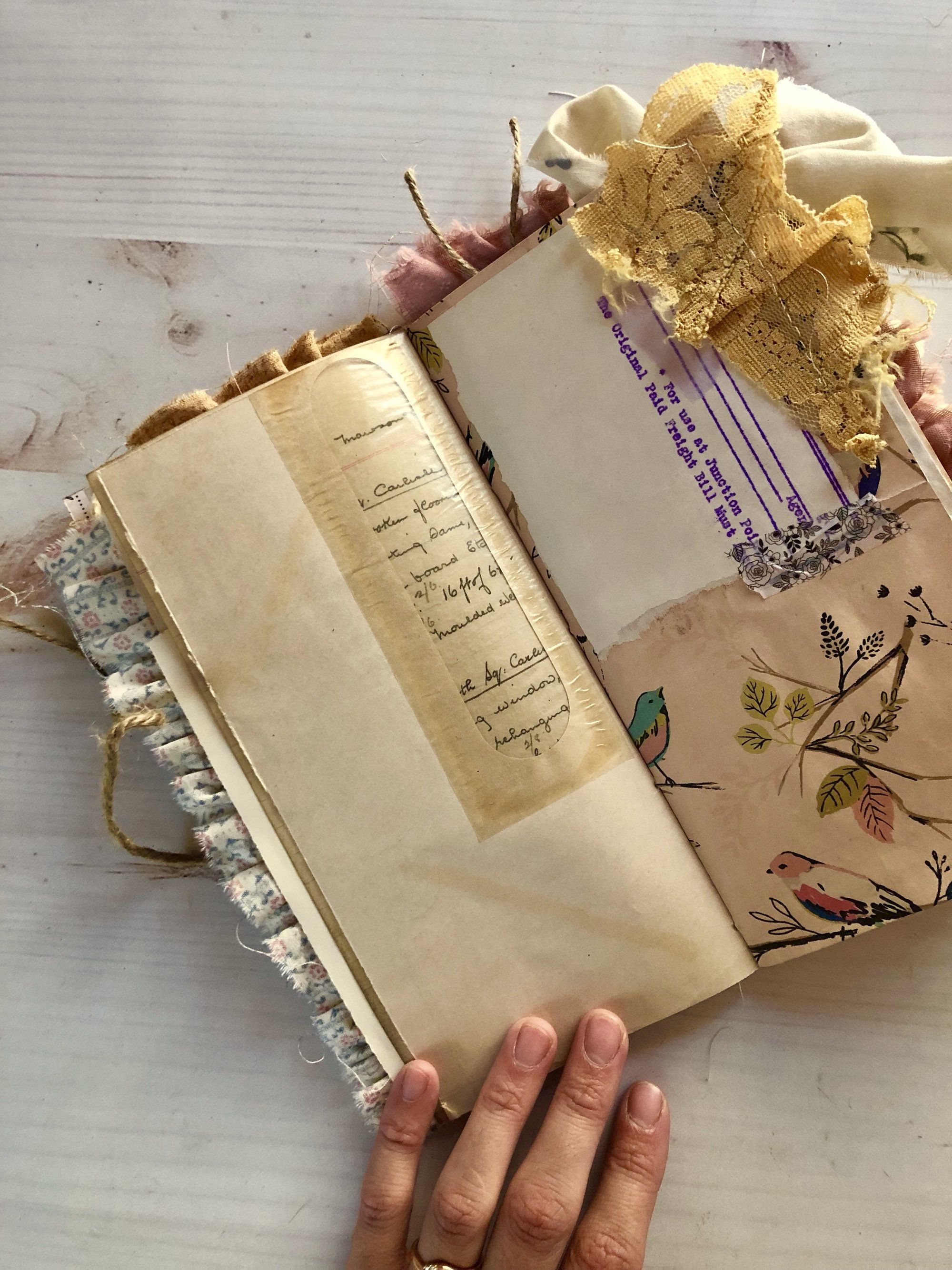 Pin On Junk Journals