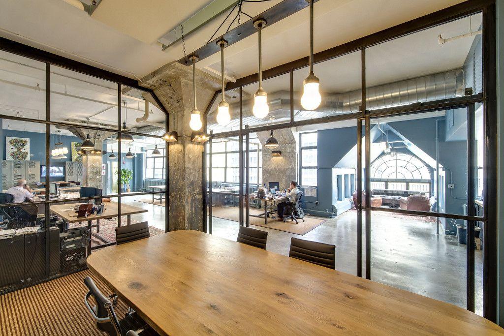 The Office Stylist » Blog Archive » JMC Holdingsu0027 Industrial Cool Office By  Emporium Design {Office Tour}