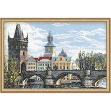 RIOLIS® Charles Bridge-Prague Counted Cross-Stitch Kit