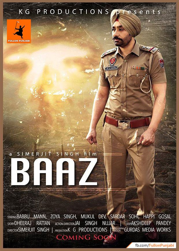 Baaz Punjabi Movie - Babbu Maan - Official Poster. Movies BoxWatch MoviesLatest  Hindi ...