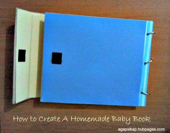 How to create a homemade baby book homemade baby homemade and create how to create a homemade baby book solutioingenieria Images