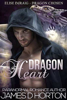 REVIEW BY MERISSA - Dragon Heart (Elise Ddraig, Dragon Chosen Book 1) by James D Horton - #Paranormal, #Serial, #Young_Adult, 3 out of 5 (good), @RomanceARCade  (September)