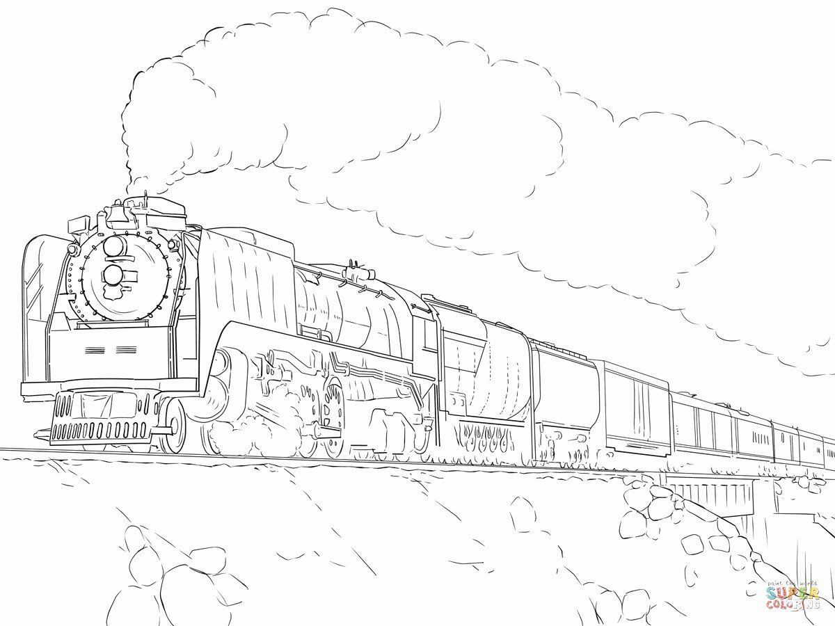 Printable Train Coloring Page Lovely Union Pacific Coloring Pages