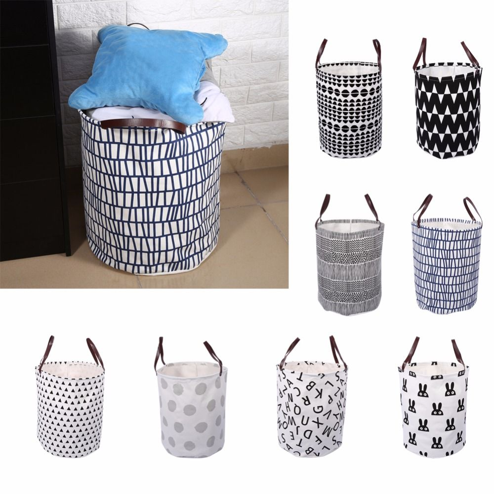 Find More Storage Baskets Information About Large Laundry Basket Semicircle Grid Canvas Storage Toy Large Laundry Basket Laundry Basket Storage Canvas Storage