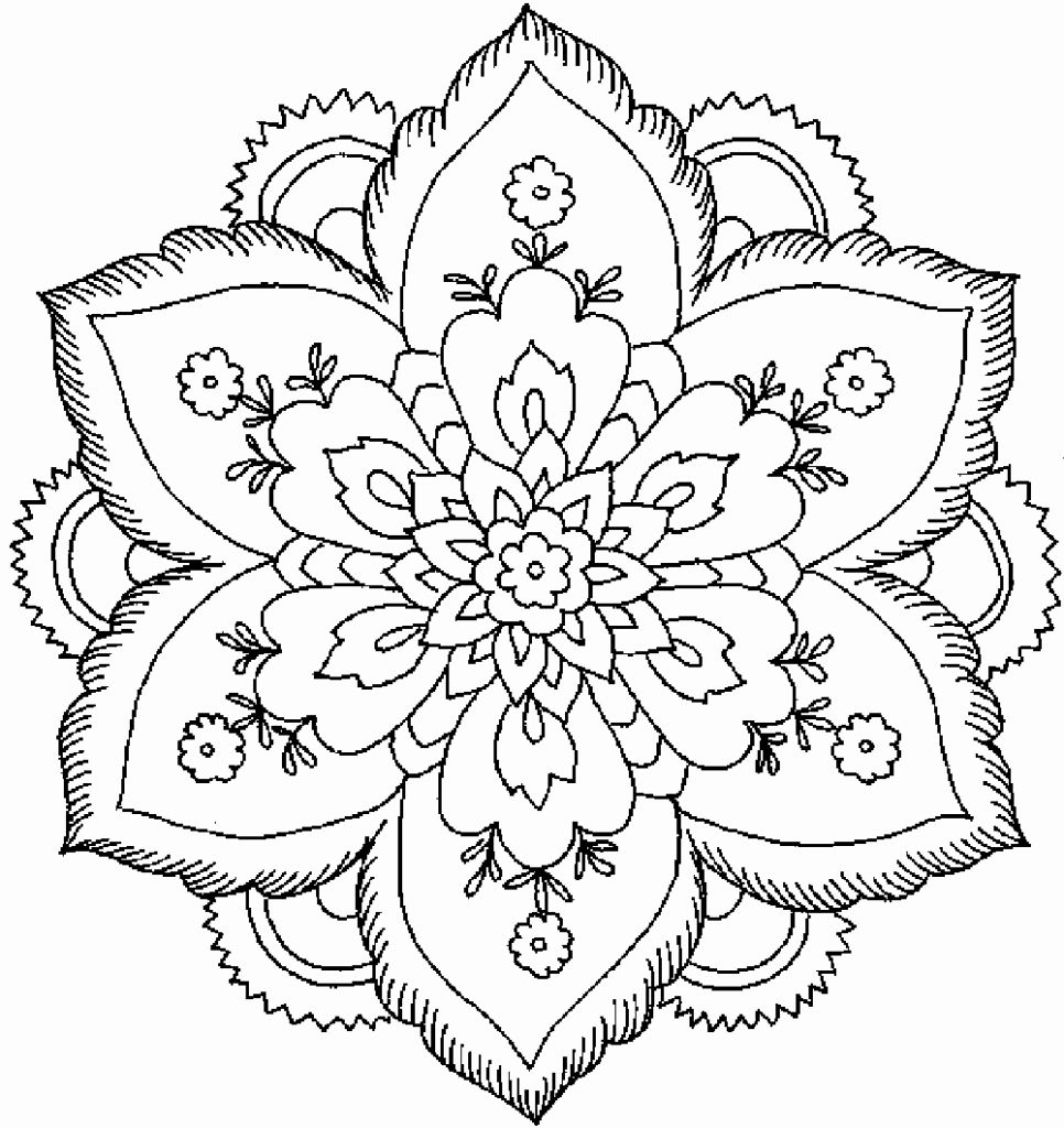 Hard Coloring Sheets For Adults Best Of Coloring Pages Detailed Coloring Pages For Adults In 2020 Flower Coloring Pages Abstract Coloring Pages Detailed Coloring Pages