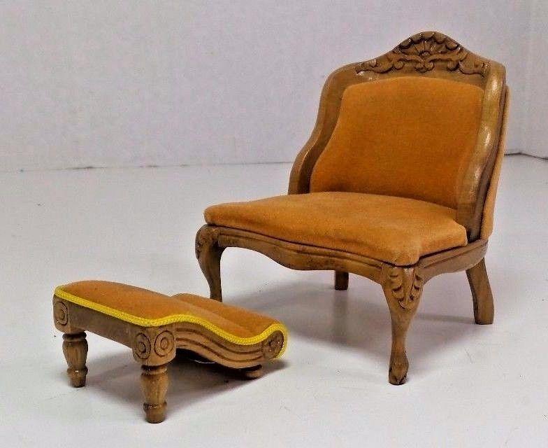 Dollhouse Miniature Furniture Chair Reminiscence Divany I Kresla