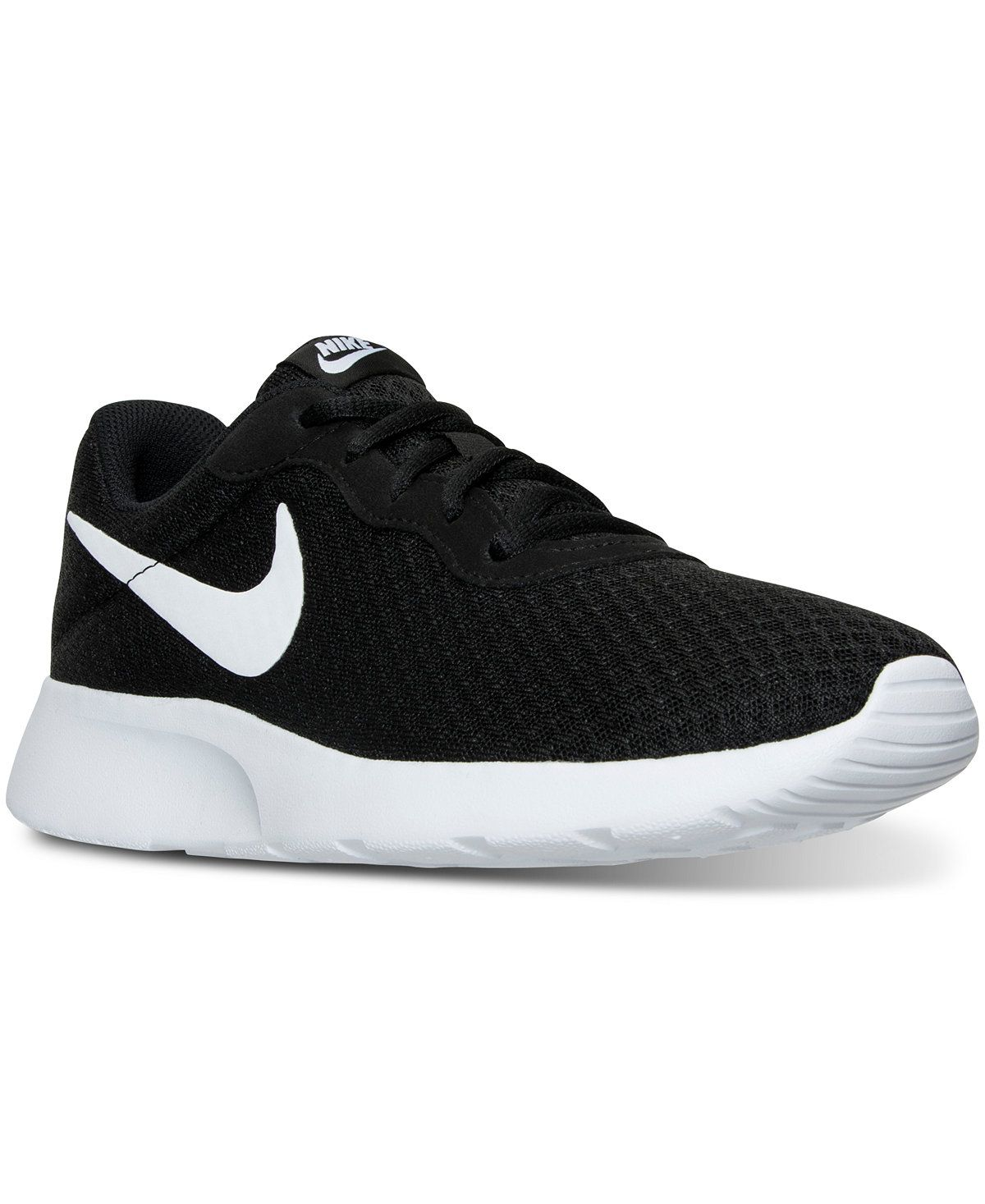 a6a8c45e119c Nike Women s Tanjun Casual Sneakers from Finish Line - Finish Line Athletic  Sneakers - Shoes - Macy s