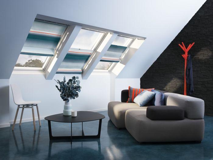 Indirekte Beleuchtung Dachschräge led indirekte beleuchtung decke dunkeles interior leuchte