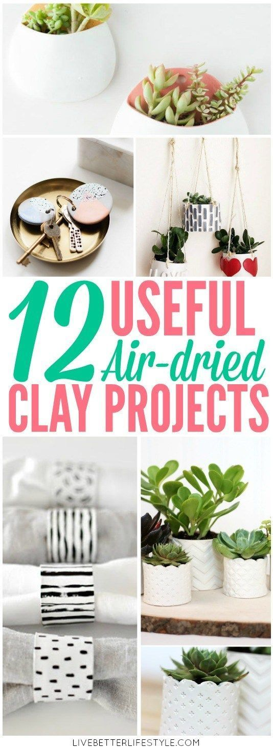 Beautiful and Easy Air-Dried Clay Projects