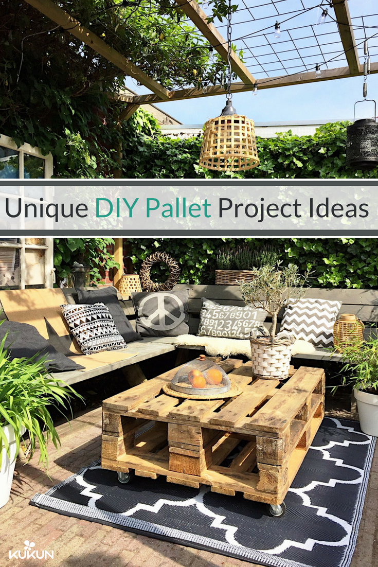 Pallet Ideas For Diy Outdoor Projects