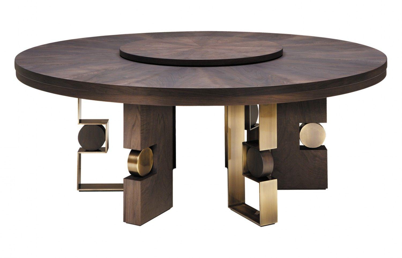 Produzione Tavoli Da Giardino.Rodrigo 160 200 Circular Dining Table Furniture Dining Table