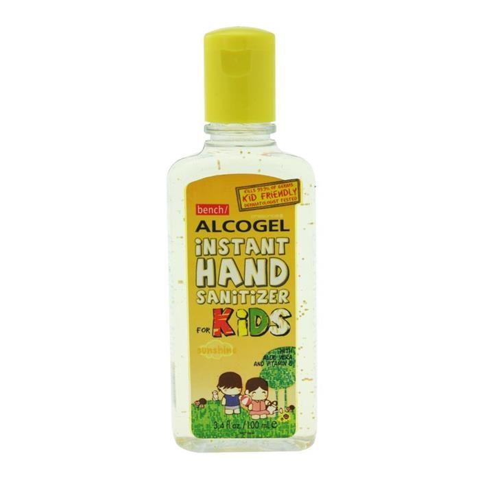 Alcogel Instant Hand Sanitizer For Kids 100ml 3 4oz Hand