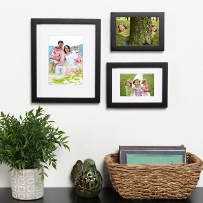 Frame Set 8x10 Black Frame Set Picture Frame Sets And Products