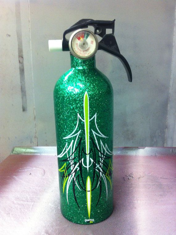 Awesome fire extinguisher. Should have the old man make me one.