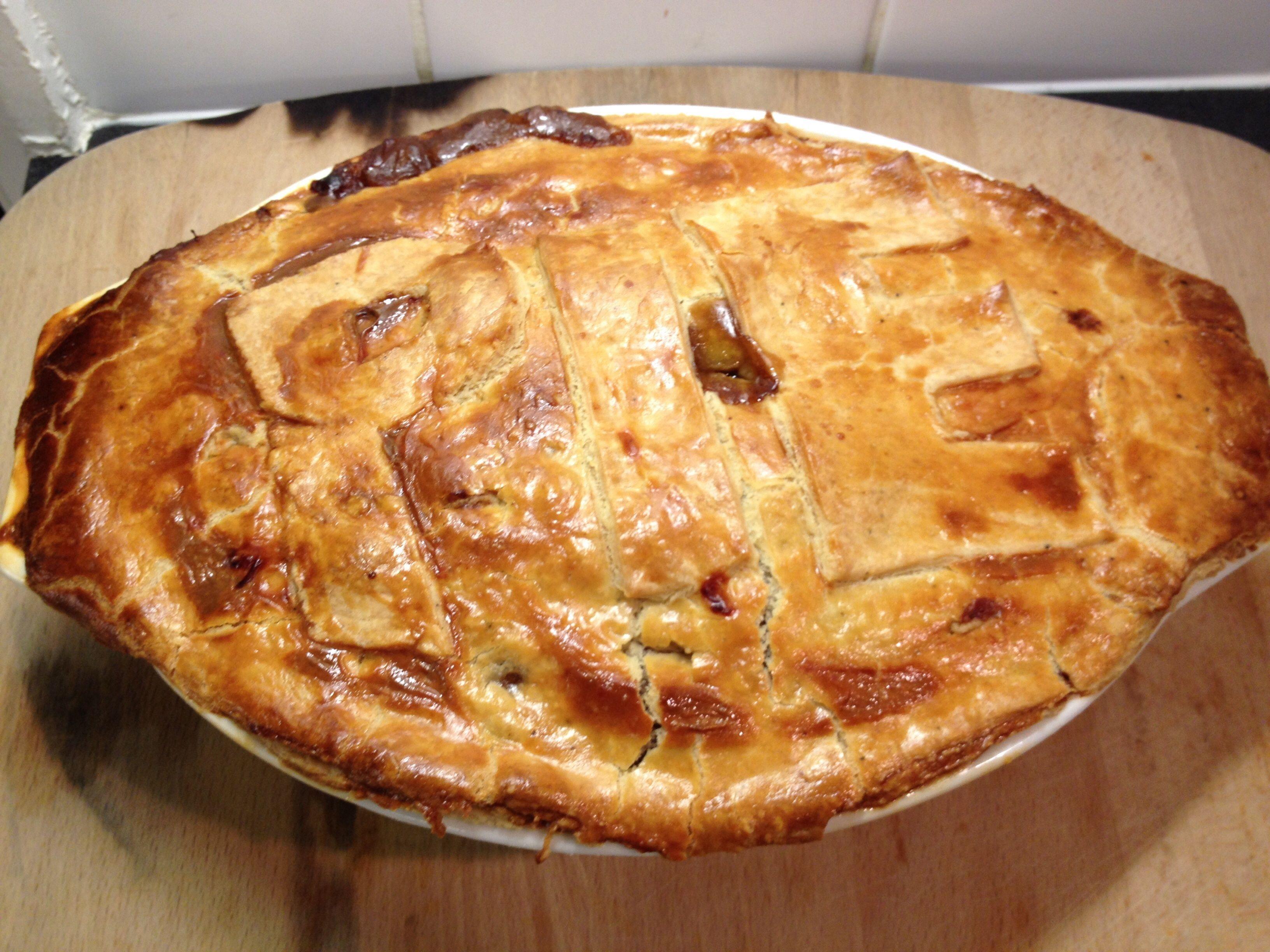 Recipe photo: Easy steak pie | Steak pie, Easy steak, Food ...