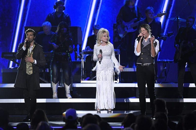 Dolly Parton, For King and Country & Zach Williams Deliver
