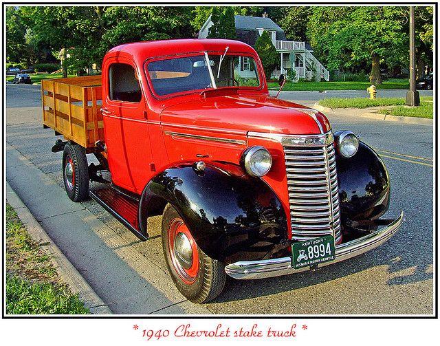 1940 Chevrolet Stake Truck New Chevy Truck Chevy Trucks Chevrolet Trucks
