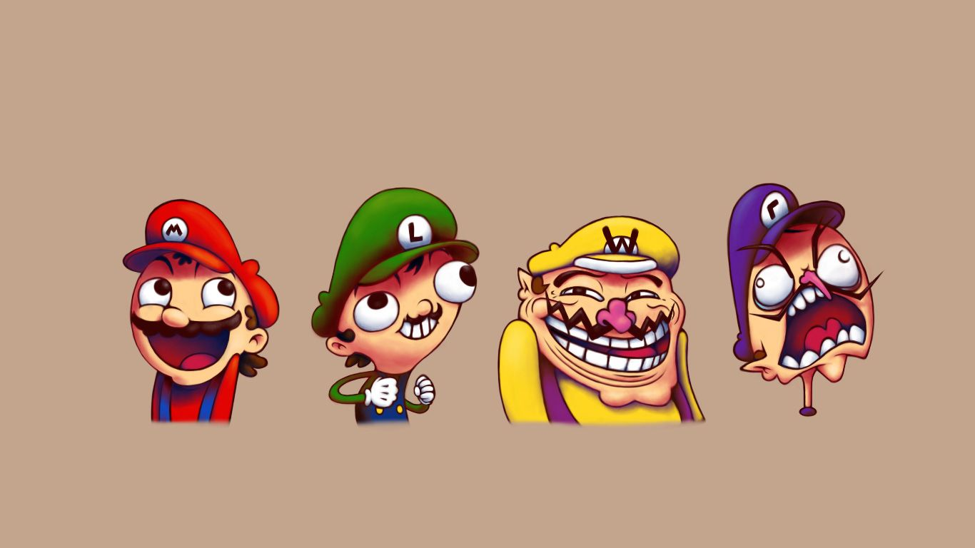 Funny Meme Phone Wallpapers : 4chan mario walls pinterest high quality wallpapers wallpaper
