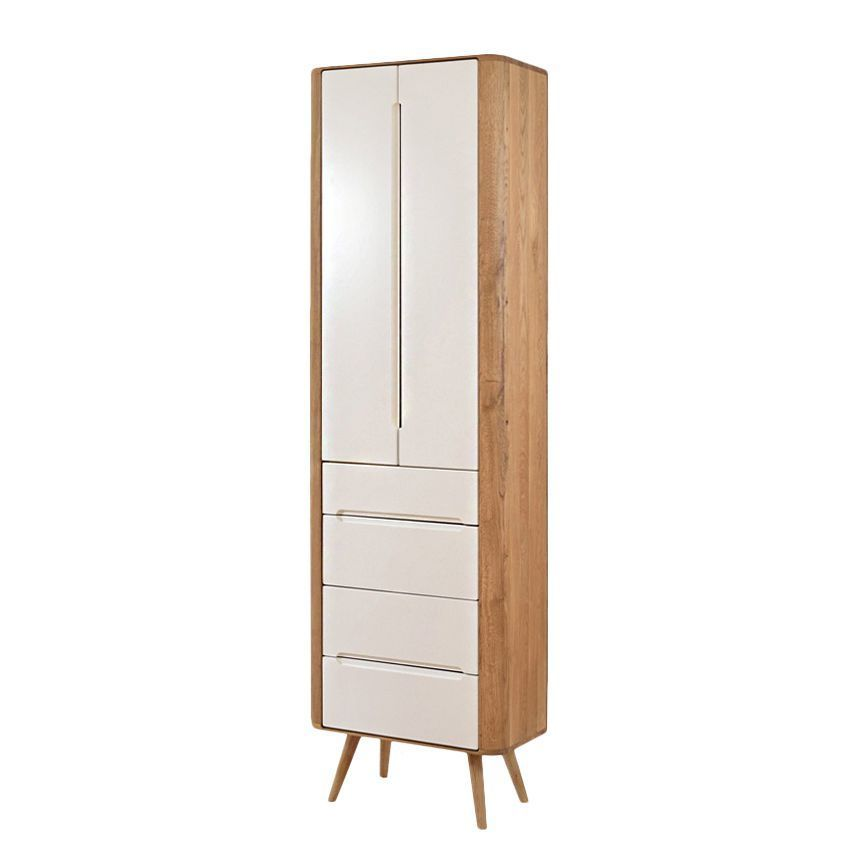 Schrank Loca - Wildeiche teilmassiv - 60 cm, Studio Copenhagen Jetzt - schrank für wohnzimmer