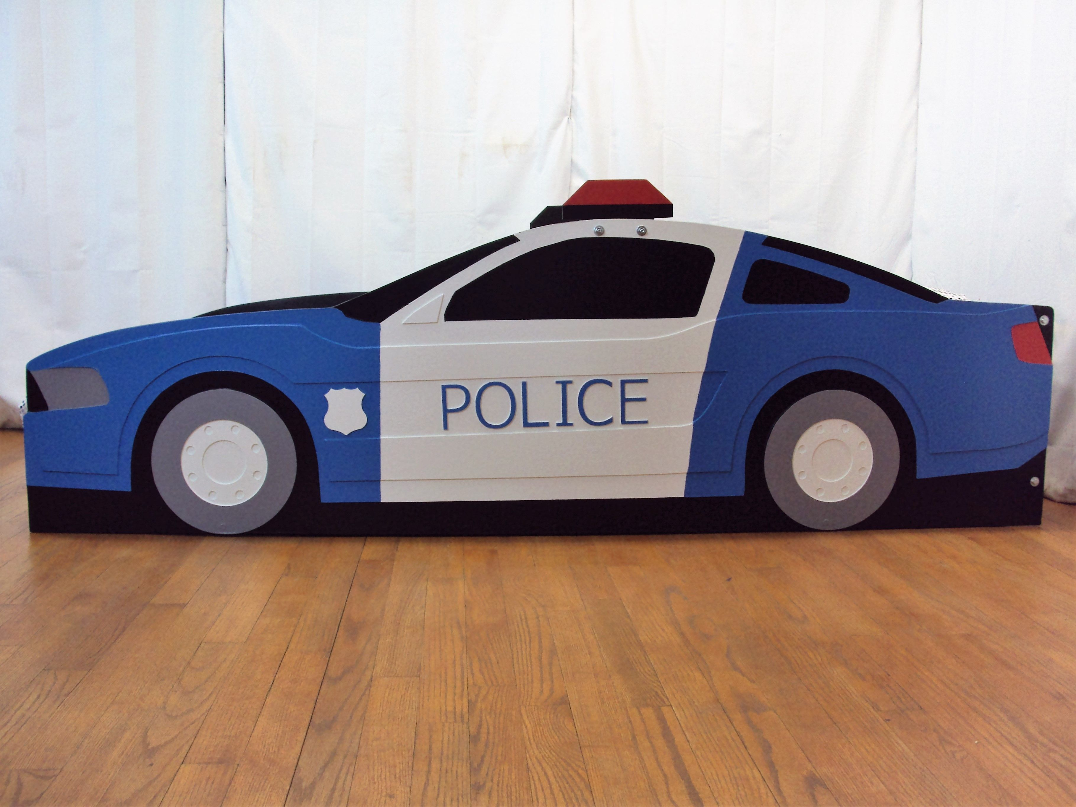 Police Car Twin Bed Frame Firetruck Bed Twin Bed Frame