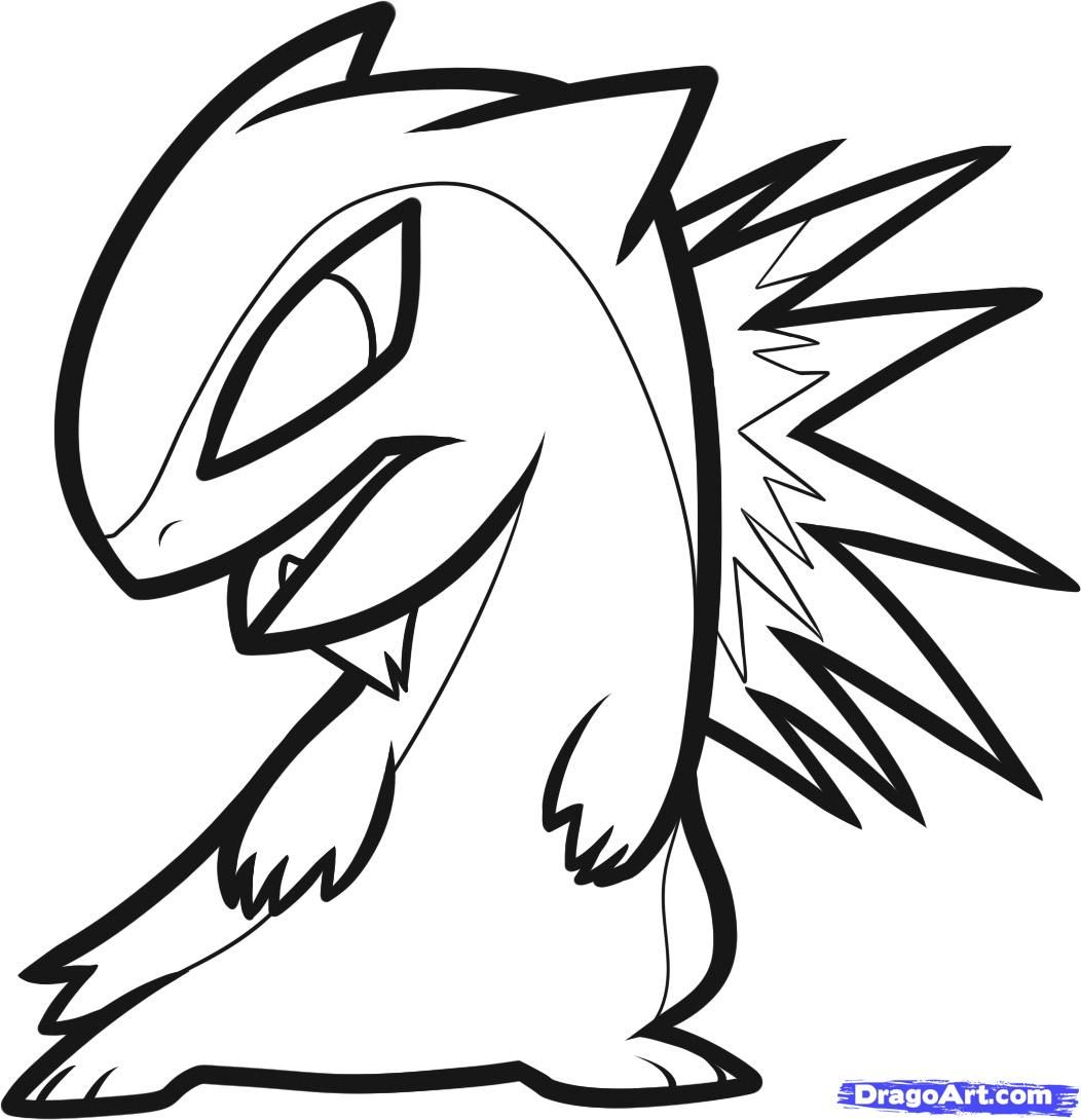 pokemon chibi coloring pages - photo#7