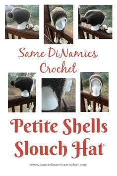 Petite Shells Slouch Hat