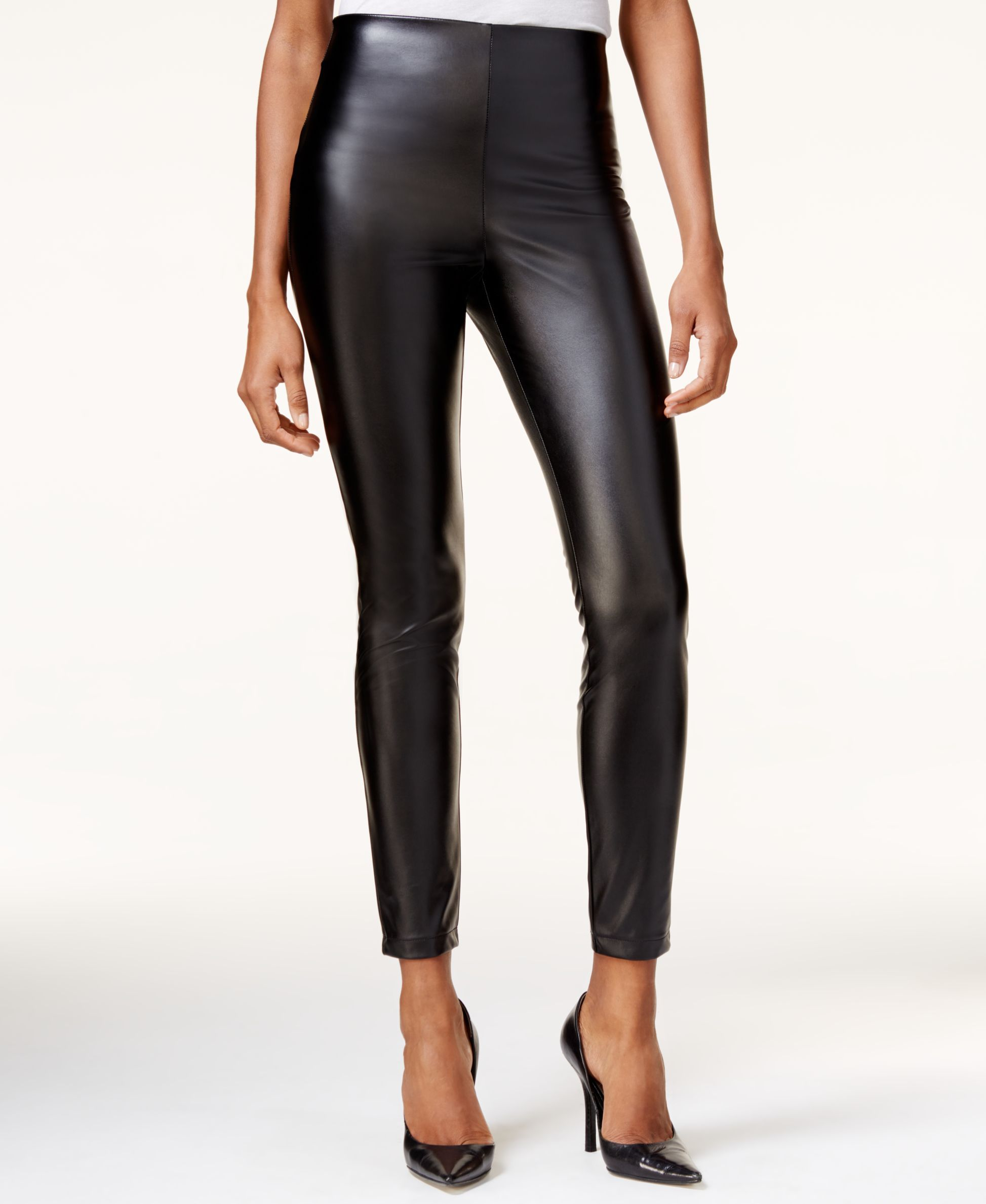 671a0dc0967ef Guess High-Rise Faux-Leather Leggings | My Style Inspiration | Faux ...