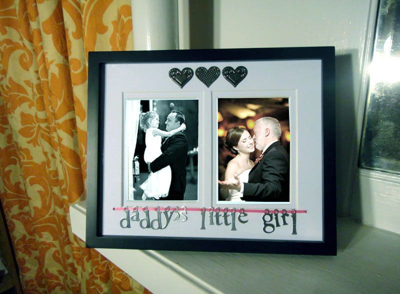 Daddy\'s Little Girl Picture Frame and Mat, Father\'s Day Gift ...
