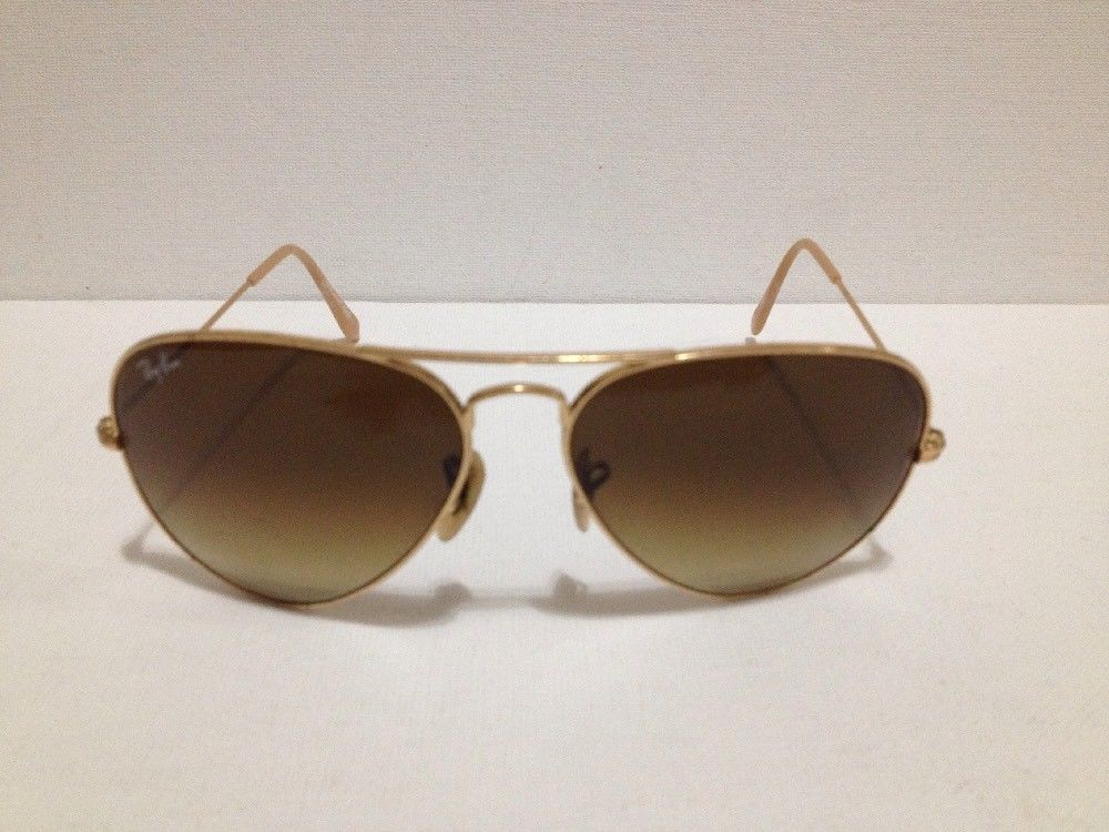 f66a4212d76 Ray-Ban Aviator Large Metal Sunglasses RB3025-112/85-58 Pre Owned ...