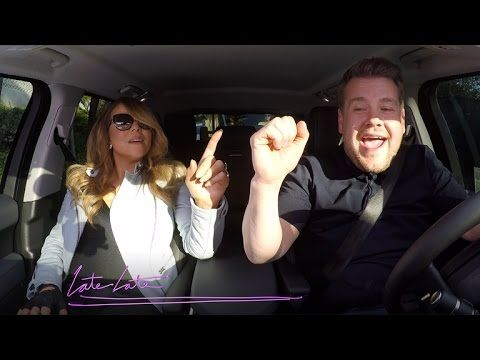 Watch Mariah Carey Sing Mariah Carey With James Corden In A Car Mariah Carey Carpool Karaoke Mariah Carey Singing