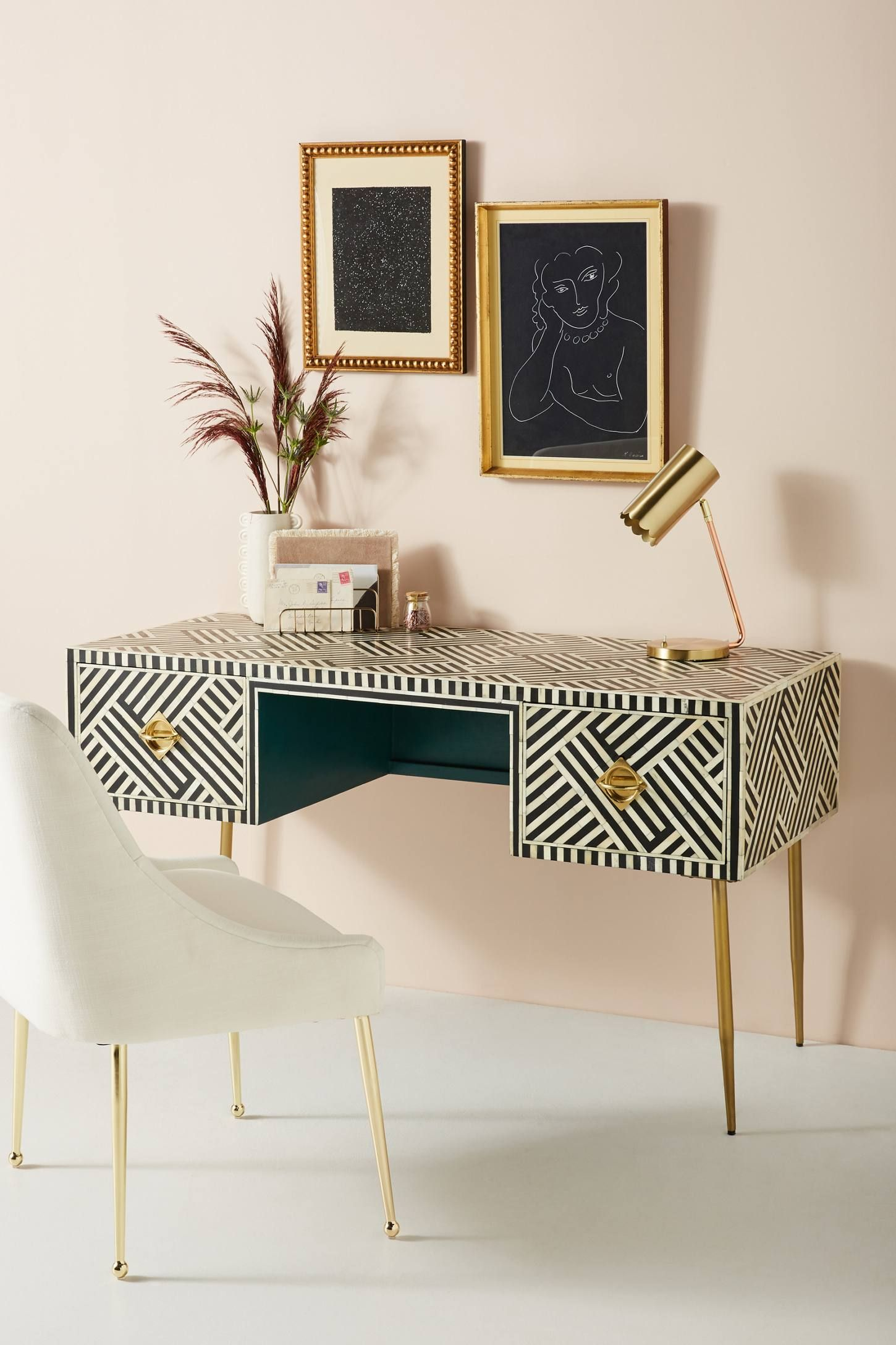 Optical inlay desk in wish list pinterest home home