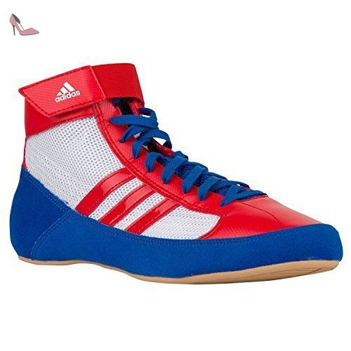 brand new f8075 849e4 adidas , Chaussons montants homme - Blanc - White Red Blue, 41 1