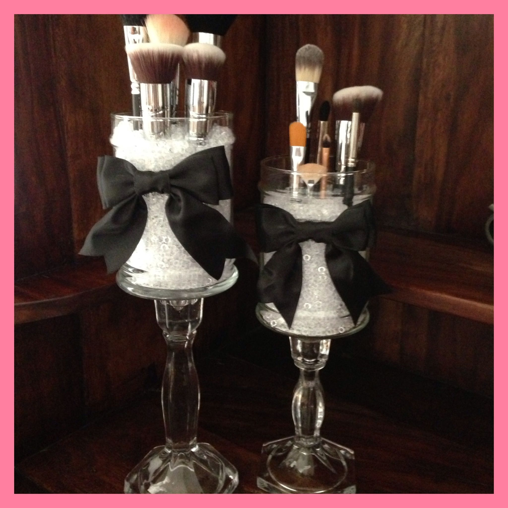 Diy made two apothecary jars using empty candle jars for How to decorate empty glass jars
