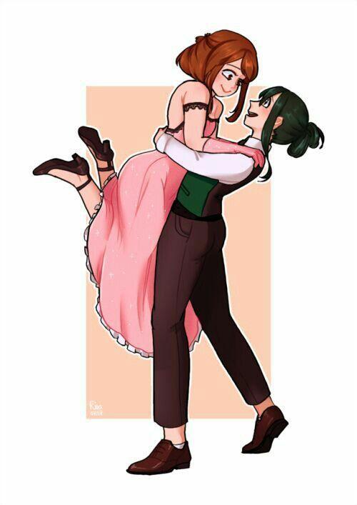 Tsuchako Is Beautiful Hero My Hero Academia Tsuyu My Hero