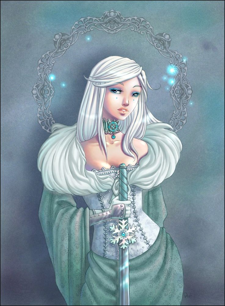 Vassilissa_ frozen beauty by Chpi.deviantart.com on @deviantART