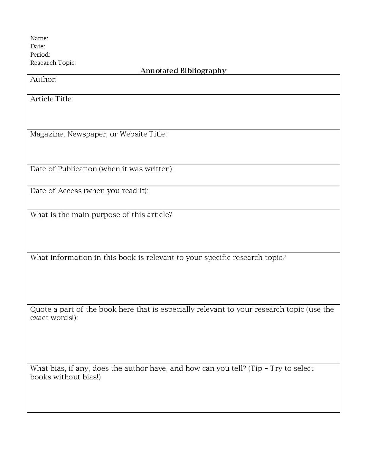 worksheet Bibliography Worksheet miss k s english 9 annotated bibliography worksheet school worksheet