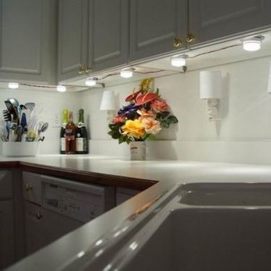 "Undercabinet Lighting 10 ""shining"" Examples  Lighting The O Interesting Kitchen Lighting Under Cabinet Decorating Inspiration"