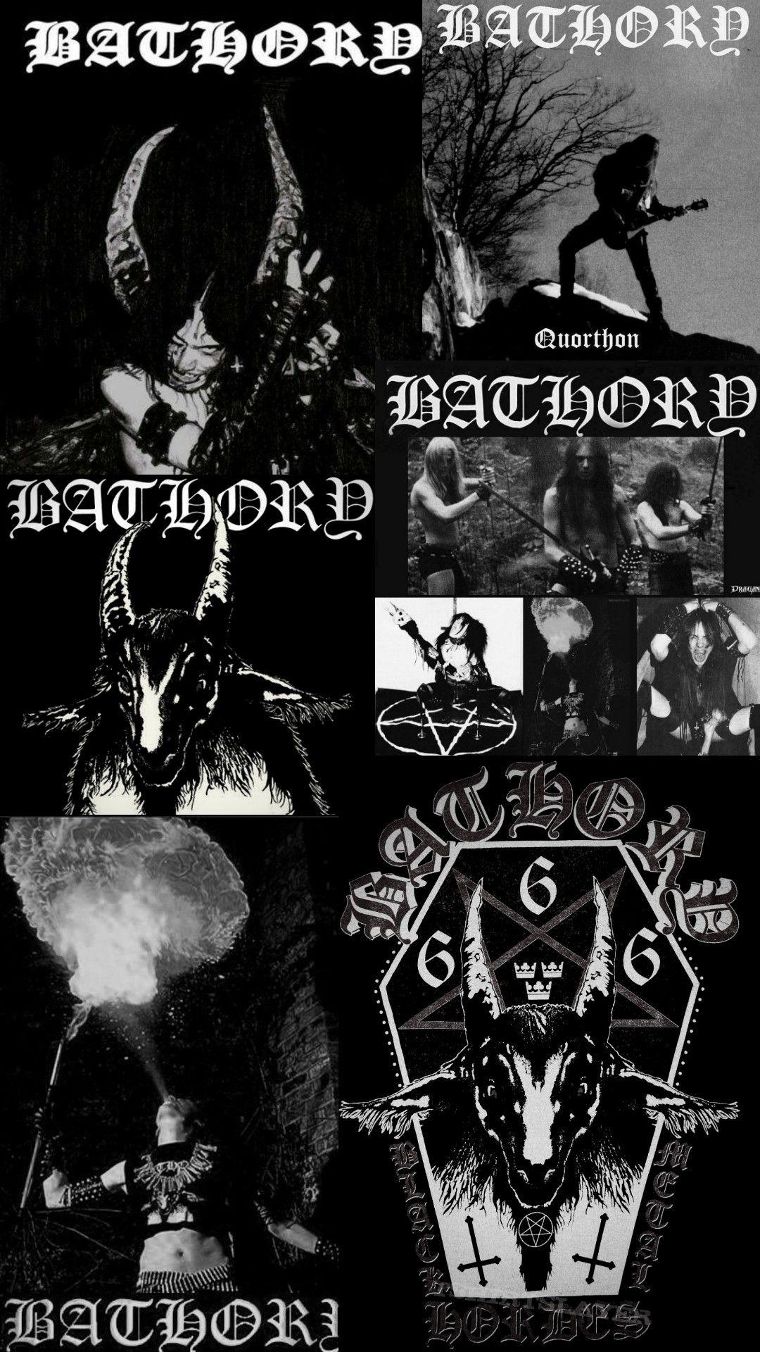 Bathory Wallpaper Goth Wallpaper Black Metal Art Edgy Wallpaper