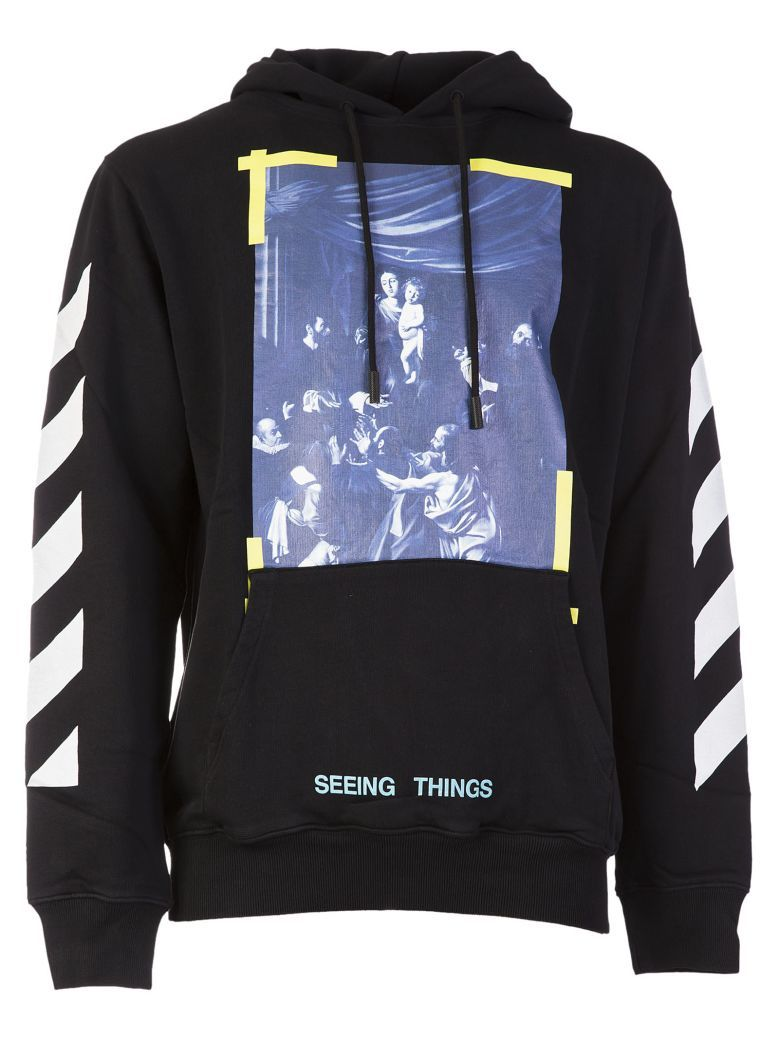 cf76efd7aafe OFF-WHITE Off-white Caravaggio Print Hoodie.  off-white  cloth ...