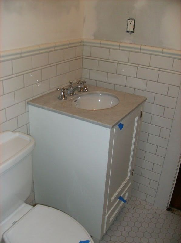 daltile rittenhouse subway pencil and shelf tiles i would want a sanitary cove for the base - Daltile Subway Tile